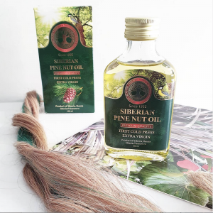SIBERIAN TREASURE PINE NUT OIL HAIR REVIEW VIDEO