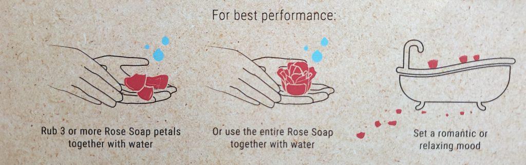 CROWN AND FULL MOON PREMIUM ROSE SOAP